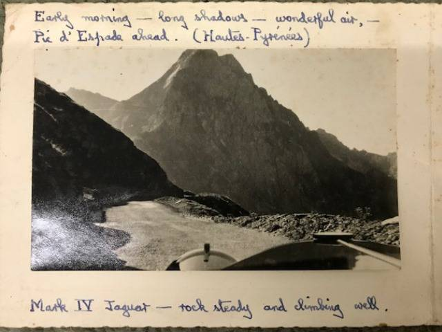 Image of post card from Lt-Col. Rixon Bucknall to Mr Leslie Tye describing how good the car is